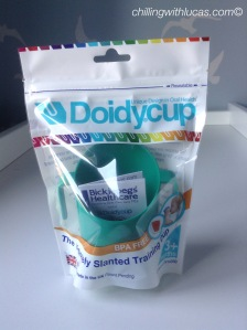 green doidy cup in packaging