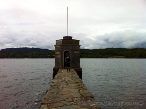 a pier on lake windermere